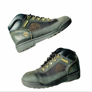 Timberland Leather Camo Crystals Classy Sneakers
